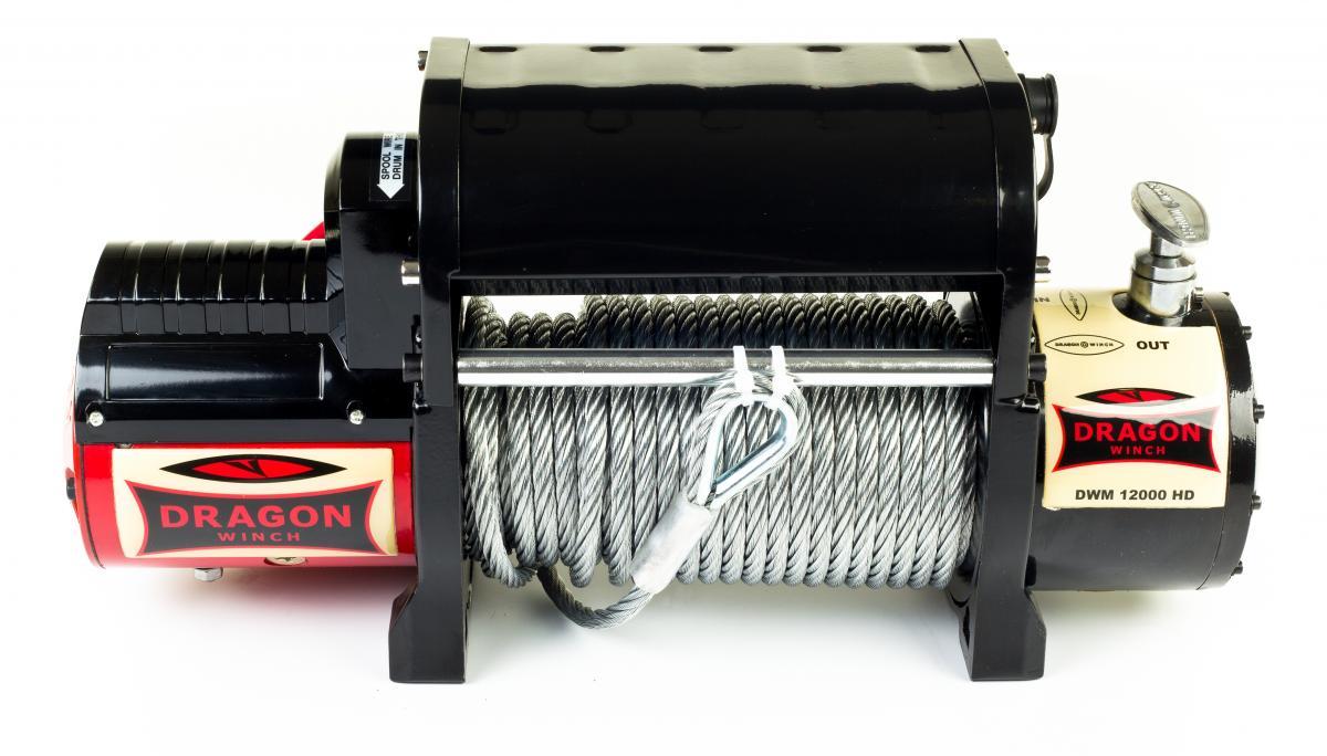 Im Set: Seilwinde DWM 12000 HDI + Stromschutzschalter + Überzüge 4x4 ...