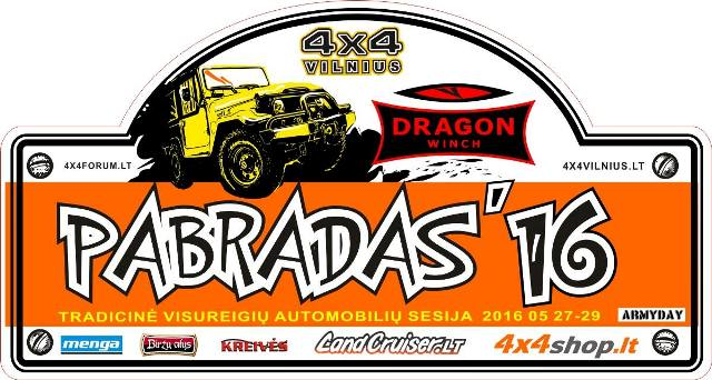 Pabradas 2016 z Dragon Winch