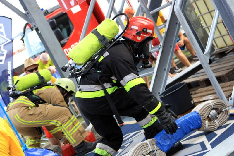 World Rescue Service & Public Safety Firefighter Combat Challenge Warsaw Cup z DRAGON WINCH!