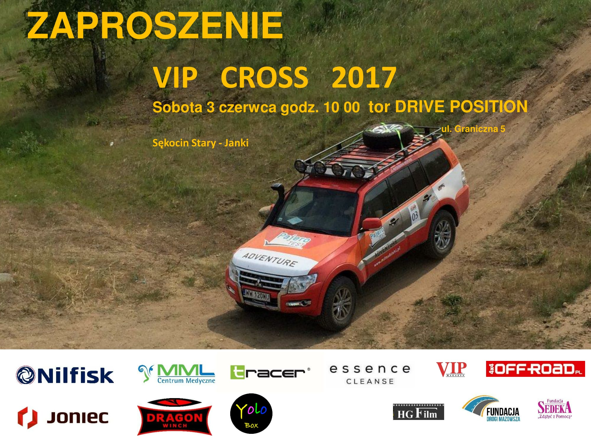 DRAGON WINCH - Partner rajdu VIP CROSS 2017!