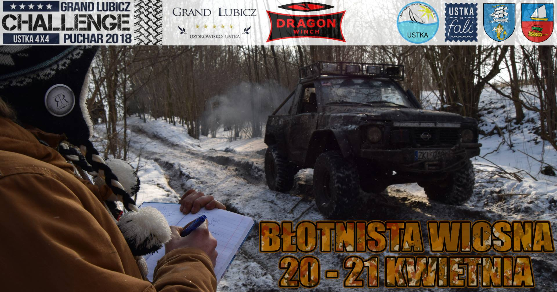 Ustka 4x4 offroad z DRAGON WINCH!
